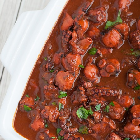 Pico Island Octopus Stew (Azores)