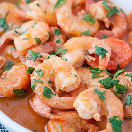 Deliciously Quick Baked Shrimp Appetizer