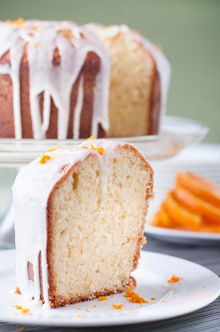 Coconut and Orange Pound Cake