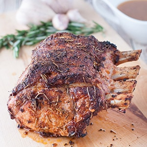 Weeknight Pork Loin Rib Roast
