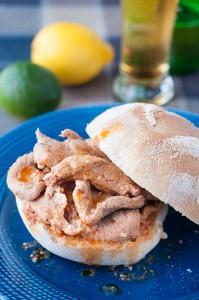 Pork Tenderloin Sandwiches (Bifanas das Ribeiras)