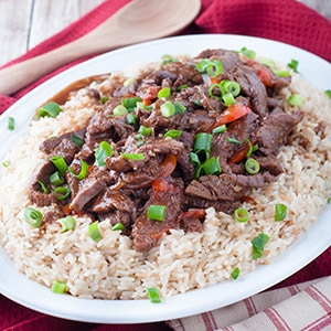Saucy Weeknight Beef in the Pressure Cooker