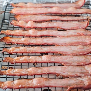 Perfect Crispy Bacon in the Oven