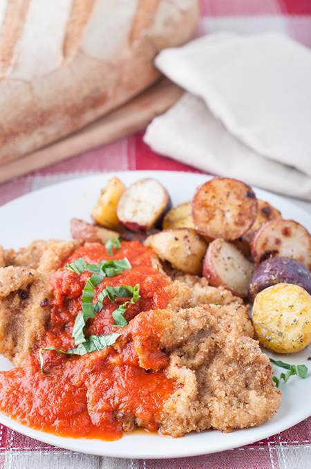 Italian Style Breaded Veal Cutlets (Fettini)