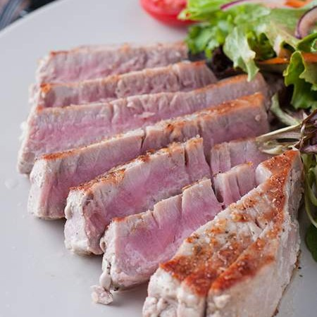 Seared Wild Tuna Steak