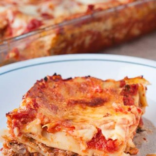 Amazing Meat Lasagna