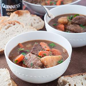 Pressure Cooker Irish Stew with Guiness Beer