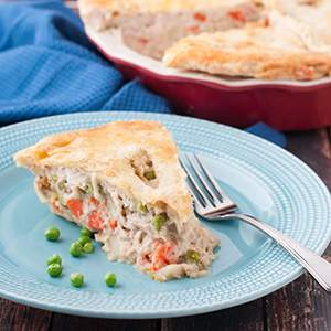 Old Fashion Chicken Pot Pie