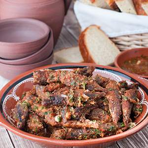 Azores Chicharros with Sauce