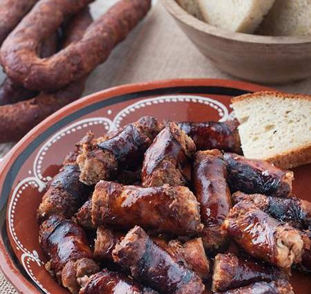 Smoked Azores Linguiça (Azores Pork Sausage)