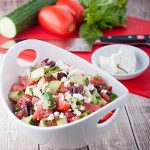 Mediterranean Tomato and Cucumber Salad Recipe