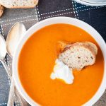 Quick Blender Tomato and Carrot Soup