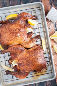Smoked Chicken, the Alternative to Thanksgiving Turkey