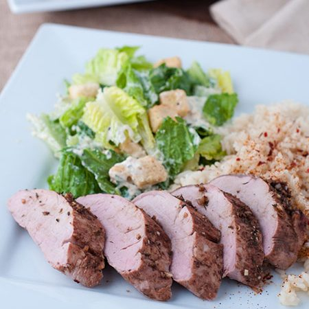 Balsamic Oven Roast Pork Loin