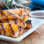  Maple Glazed Grilled Pineapple