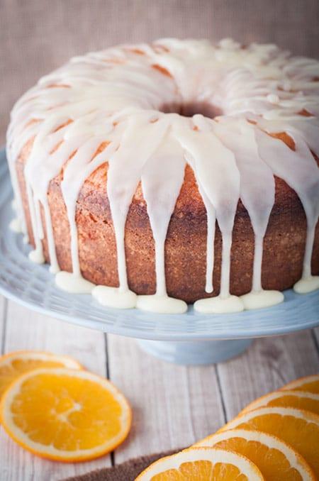 Juicy Orange Pound Cake