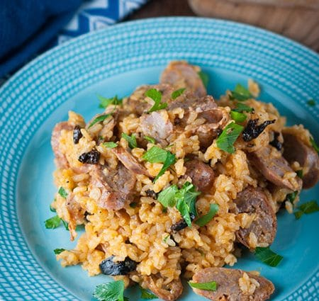 Delicious Italian Sausage and Rice in Under 30 Minutes