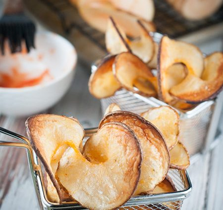 Peri Peri Spiralizer Baked Potato Chips
