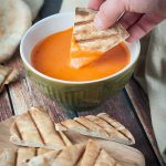 Sriracha, Red Pepper and Goat Cheese Dip