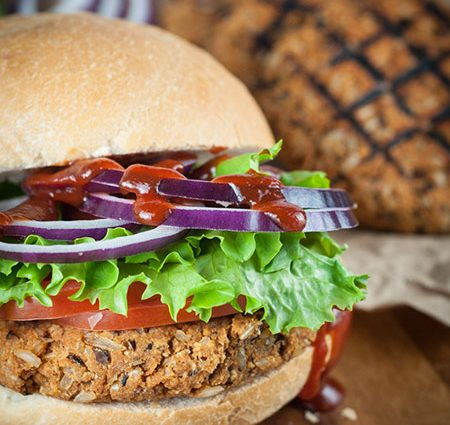 Oh So Good Veggie Burgers! Even for Meat Lovers!