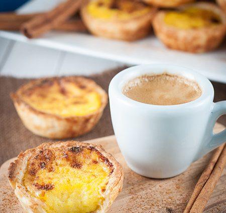Homemade Portuguese Custard Tarts (Pasteis de Nata)