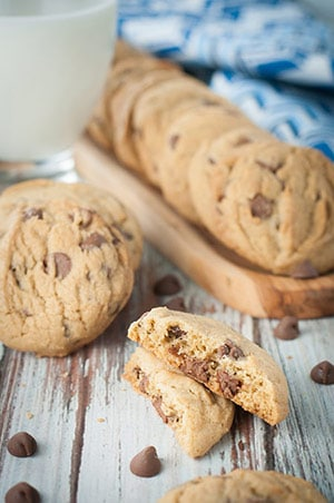 Dunkable Classic Chocolate Chip Cookies