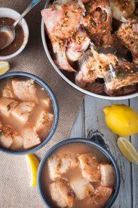 Azores Fish Soup / Stew (Caldo de Peixe Açoreano)