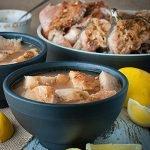 Azores Fish Soup / Stew (Caldo de Peixe dos Açores)