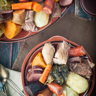Portuguese Mixed Meat Boil (Cozido à Portuguesa)