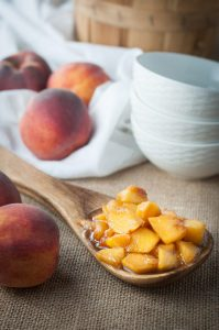 BBQ Roasted Peaches for Dessert