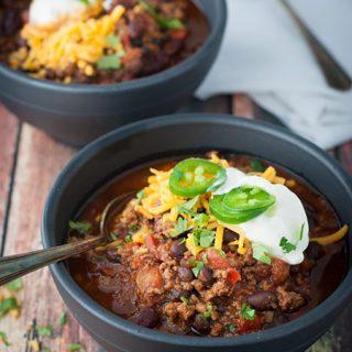 Simple Instant Pot Classic Chili