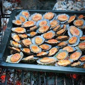 Grilled Limpets - lapas grelhadas